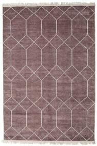 Kiara - Mauve 絨毯 160X230 モダン 手織り 薄紫色/濃いグレー ( インド)