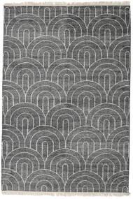 Vanya - チャコール/Cream 絨毯 160X230 モダン 手織り 濃いグレー/薄い灰色 ( インド)