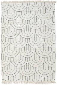 Vanya - 砂色/黒 絨毯 160X230 モダン 手織り 薄い灰色/ベージュ ( インド)