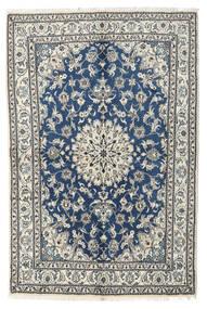 ナイン 絨毯 170X230 オリエンタル 手織り 薄い灰色/ベージュ (ウール, ペルシャ/イラン)