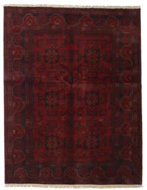 アフガン Khal Mohammadi 絨毯 151X196 オリエンタル 手織り 深紅色の (ウール, アフガニスタン)
