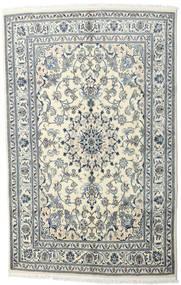 ナイン 絨毯 170X230 オリエンタル 手織り ベージュ/薄い灰色 (ウール, ペルシャ/イラン)