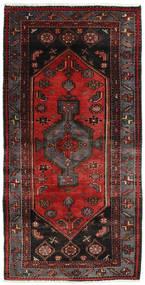 ハマダン 絨毯 101X200 オリエンタル 手織り 深紅色の/濃い茶色 (ウール, ペルシャ/イラン)