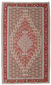 キリム センネ 絨毯 150X251 オリエンタル 手織り 薄い灰色/茶 (ウール, ペルシャ/イラン)