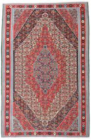 キリム センネ 絨毯 169X257 オリエンタル 手織り 薄い灰色/茶 (ウール, ペルシャ/イラン)