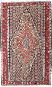 キリム センネ 絨毯 150X248 オリエンタル 手織り 薄い灰色/濃い茶色 (ウール, ペルシャ/イラン)