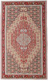 キリム センネ 絨毯 150X259 オリエンタル 手織り 薄い灰色/ベージュ (ウール, ペルシャ/イラン)