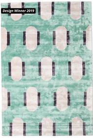 Catalpa - グリーン 絨毯 250X350 モダン パステルグリーン/ベージュ 大きな ( インド)