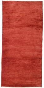 ギャッベ ペルシャ 絨毯 95X205 モダン 手織り 錆色 (ウール, ペルシャ/イラン)