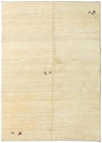 ギャッベ ペルシャ 絨毯 147X206 モダン 手織り ベージュ/暗めのベージュ色の (ウール, ペルシャ/イラン)