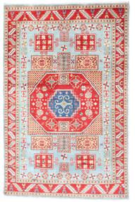 カザック 絨毯 117X181 オリエンタル 手織り ベージュ/ホワイト/クリーム色 (ウール, アフガニスタン)
