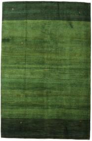 ギャッベ ペルシャ 絨毯 198X307 モダン 手織り 深緑色の/緑色 (ウール, ペルシャ/イラン)