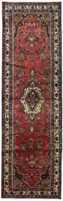 ハマダン 絨毯 105X345 オリエンタル 手織り 廊下 カーペット 深紅色の/黒 (ウール, ペルシャ/イラン)