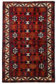 ロリ 絨毯 145X224 オリエンタル 手織り 濃い茶色/深紅色の (ウール, ペルシャ/イラン)