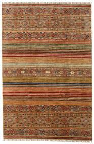 Shabargan 絨毯 199X303 モダン 手織り 薄茶色/茶 (ウール, アフガニスタン)