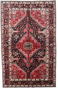 Toiserkan 絨毯 152X241 オリエンタル 手織り 濃い茶色/深紅色の (ウール, ペルシャ/イラン)