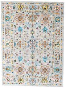 Mirage 絨毯 153X205 モダン 手織り 薄い灰色/ホワイト/クリーム色 (ウール, アフガニスタン)