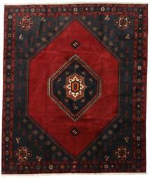 クラルダシュト 絨毯 255X302 オリエンタル 手織り 黒/深紅色の 大きな (ウール, ペルシャ/イラン)