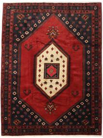クラルダシュト 絨毯 218X282 オリエンタル 手織り 黒/深紅色の (ウール, ペルシャ/イラン)