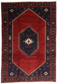 クラルダシュト 絨毯 203X300 オリエンタル 手織り 深紅色の/黒 (ウール, ペルシャ/イラン)