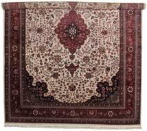 タブリーズ Royal 絨毯 305X401 オリエンタル 手織り 深紅色の/濃い茶色 大きな ( インド)