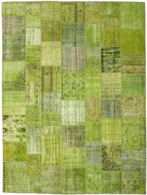 パッチワーク - Turkiet 絨毯 300X400 モダン 手織り ライトグリーン/オリーブ色 大きな (ウール, トルコ)