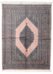 パキスタン ブハラ 3Ply 絨毯 147X193 オリエンタル 手織り 濃いグレー/ホワイト/クリーム色 (ウール, パキスタン)