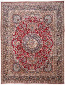 ケルマン 絨毯 303X391 オリエンタル 手織り 濃いグレー/深紅色の 大きな (ウール, ペルシャ/イラン)