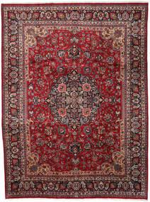マシュハド 絨毯 290X387 オリエンタル 手織り 深紅色の/濃いグレー 大きな (ウール, ペルシャ/イラン)