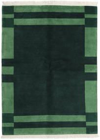 ギャッベ インド 絨毯 170X230 モダン 手織り ターコイズ/深緑色の (ウール, インド)