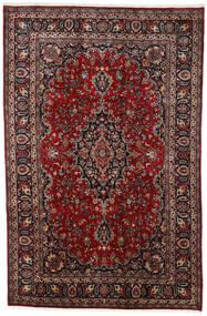 マシュハド 絨毯 195X297 オリエンタル 手織り 深紅色の/黒 (ウール, ペルシャ/イラン)