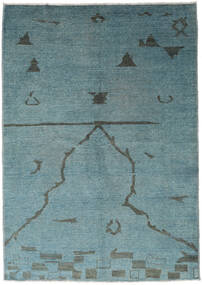 Ziegler モダン 絨毯 173X247 モダン 手織り ターコイズ/青 (ウール, パキスタン)