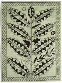 Ziegler モダン 絨毯 172X233 モダン 手織り ライトグリーン/黒 (ウール, パキスタン)