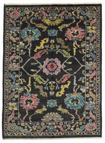 Ziegler モダン 絨毯 162X218 モダン 手織り 黒/濃いグレー (ウール, パキスタン)