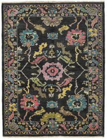 Ziegler モダン 絨毯 172X224 モダン 手織り 黒/濃いグレー (ウール, パキスタン)