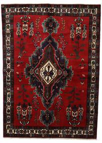 アフシャル 絨毯 160X220 オリエンタル 手織り 濃い茶色/深紅色の (ウール, ペルシャ/イラン)