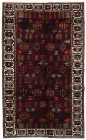 ロリ 絨毯 148X244 オリエンタル 手織り 深紅色の/濃いグレー (ウール, ペルシャ/イラン)