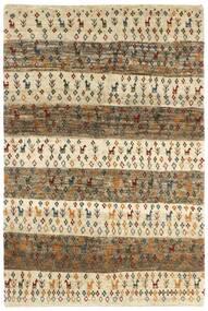 ギャッベ ペルシャ 絨毯 120X179 モダン 手織り 薄茶色/暗めのベージュ色の (ウール, ペルシャ/イラン)
