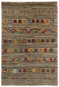 ギャッベ ペルシャ 絨毯 118X178 モダン 手織り 薄い灰色/濃い茶色 (ウール, ペルシャ/イラン)
