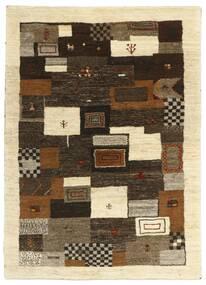 ギャッベ ペルシャ 絨毯 120X173 モダン 手織り 濃い茶色/ベージュ (ウール, ペルシャ/イラン)