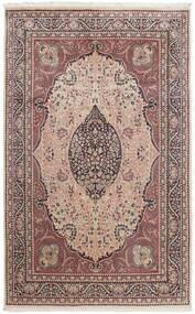 Tree Of Life 絨毯 196X305 オリエンタル 手織り ライトピンク/濃い茶色 (ウール, パキスタン)