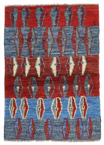 Moroccan Berber - Afghanistan 絨毯 86X126 モダン 手織り 深紅色の/青 (ウール, アフガニスタン)