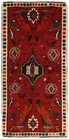カシュガイ 絨毯 85X170 オリエンタル 手織り 廊下 カーペット 深紅色の/錆色 (ウール, ペルシャ/イラン)