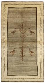 カシュガイ 絨毯 117X216 オリエンタル 手織り ライトグリーン/薄茶色 (ウール, ペルシャ/イラン)