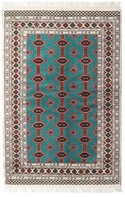 トルクメン 絨毯 135X198 オリエンタル 手織り ベージュ/薄い灰色 (ウール, ペルシャ/イラン)