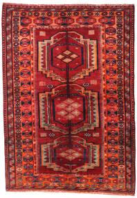 ロリ 絨毯 158X223 オリエンタル 手織り 深紅色の/錆色 (ウール, ペルシャ/イラン)