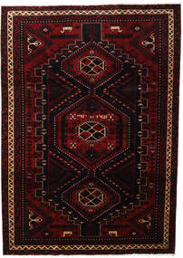 ロリ 絨毯 219X307 オリエンタル 手織り 深紅色の (ウール, ペルシャ/イラン)