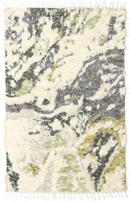 Barchi/Moroccan Berber - インド 絨毯 160X230 モダン 手織り ベージュ/ホワイト/クリーム色/薄い灰色 (ウール, インド)