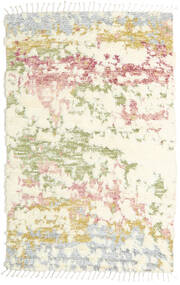 Barchi/Moroccan Berber - インド 絨毯 160X230 モダン 手織り ベージュ/ホワイト/クリーム色 (ウール, インド)