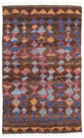Barchi/Moroccan Berber - インド 絨毯 160X230 モダン 手織り 深紅色の/濃い茶色 (ウール, インド)